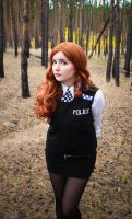 Amy Pond (Kissogram) by valeravalerevna