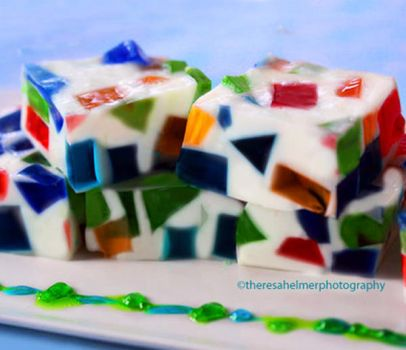 Mosaic Jello by theresahelmer