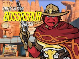 Play of the Game Badge: Bossasaur by the-gneech