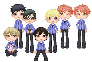 Ouran High School Host Club by Siriuslymine4eva