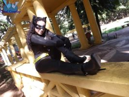 Julie Newmar's Catwoman cosplay by noooooname