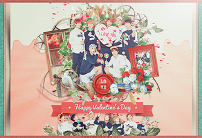 BTS-Happy Valentine's Day by Siguo