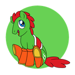 An Egg-cellent Steed by PerfectPinkWater