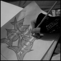 Sketching Session. by TeeTeeGraphics