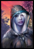 drow rogue by mikernaut