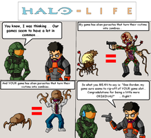 Halo-Life 1 by Art-Minion-Andrew0