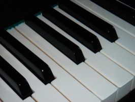 Piano Keys by a-handy-stock