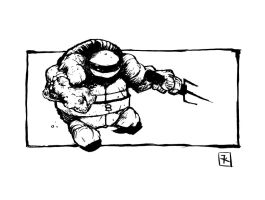 Raphael jump by TimKelly