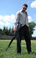 Ryan Armed Hitman 32 by FantasyStock
