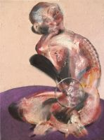 Study For Sitting Figure, 2013 by RyckRudd