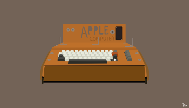 Apple Computer by raintomista