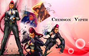 Crimson Viper wallpaper by Ishily
