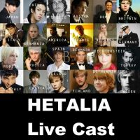 My Hetalia Live Cast by Redpaperlantern
