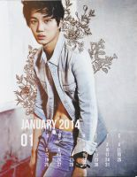 W.I.P Exo Calendar Preview by beccyboo-412