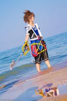 Sora - Kingdom Hearts II by oShadowButterflyo