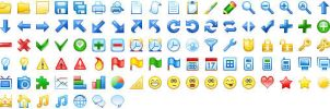 20x20 Free Toolbar Icons by Ikonod