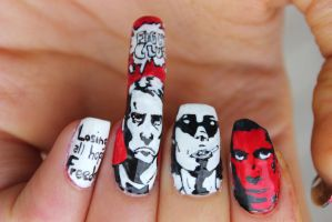 FIGHT CLUB NAIL ART by ChiquisArt