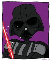 V is for Vader by striffle