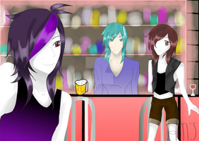 Bar Friends by HonTheAwesome