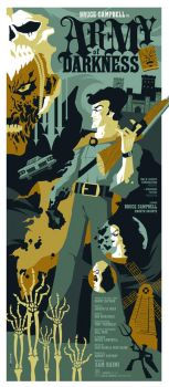army of darkness poster by strongstuff