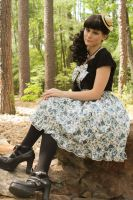 Country Lolita:Blue Rose by Raven382