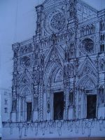 gothic cathedral by khor11