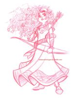 Merida by briannacherrygarcia