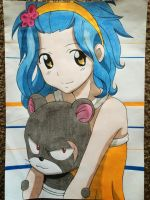 Levy and  Pantherlily by Karina-o-e