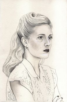 Aurora Luft (Graphite Drawing) by julesrizz