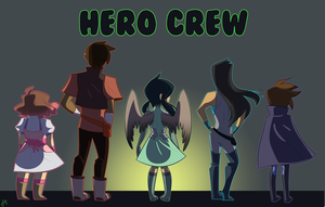 Hero Crew Poster by AnneHairball