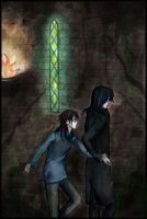 Potter and Snape by Sandra-777