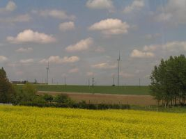 windfarms all around us by ManamiTheBest