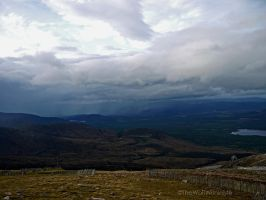 The Cairngorms I by TheWolfWithinMe