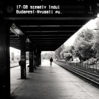 waiting for the train by torobala