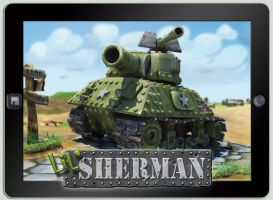 lil' Sherman on iPad by GninjaGnome