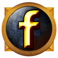 Warcraft Facebook Button by perbrethil