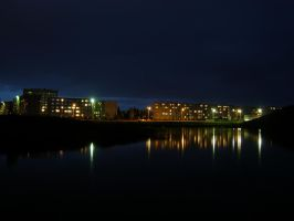In the Lithuania in night 3 by feniksas4