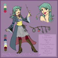 Lorelai Character Sheet by DivingSiren