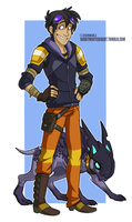 A boy and his skag by ZombiDJ