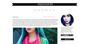 Ampersands by candypow