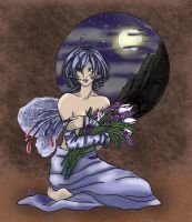 mio169-The fay with flowers... by mio27