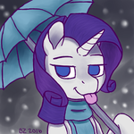 Rarity in the Snow by x-Bond-of-Flame-x