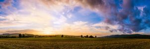 Hometown Panorama by B-O-K-E