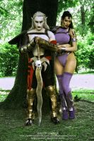 Kain and Umah cosplay (Blood Omen 2) by Daelyth