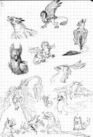 gryphon madness by Lintufriikki