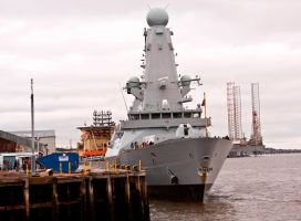 HMS Duncan Type 45 Destroyer VI by DundeePhotographics