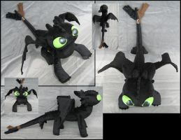 Toothless by A-chan--Creations