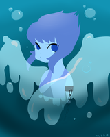 sad water fairy by kaileyrenee890
