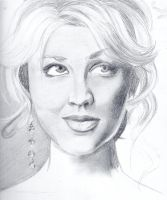 WIP: Kaley Cuoco by AngelLover89