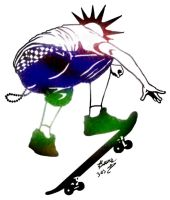 SkAte pUnk revamped by ArtbyBeans